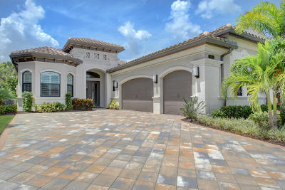 Delray Beach Single Family Home For Sale: 16963 Pavilion Way