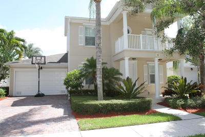 Jupiter Single Family Home For Sale: 465 Caravelle Drive