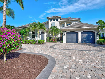 Palm Beach Gardens Single Family Home Contingent: 12141 Plantation Way