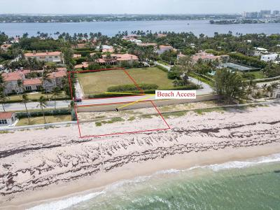 Palm Beach FL Residential Lots & Land For Sale: $21,995,000