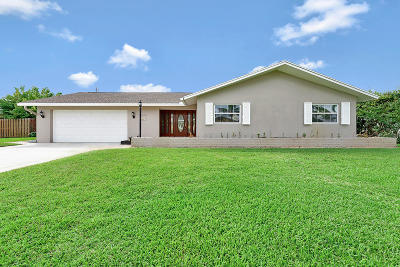 Tequesta Single Family Home For Sale: 36 Starboard Way