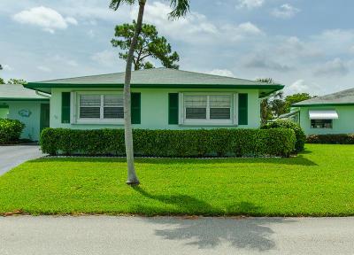 Delray Beach Single Family Home For Sale: 617 Hummingbird Lane