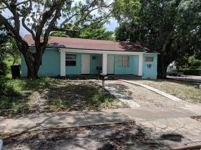 West Palm Beach Multi Family Home For Sale: 742 53rd Street