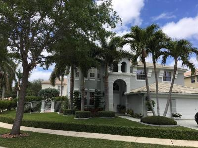Lake Worth Single Family Home For Sale: 6502 Stonehurst Circle