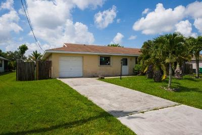 Port Saint Lucie Single Family Home For Sale: 334 NW Kilpatrick Avenue