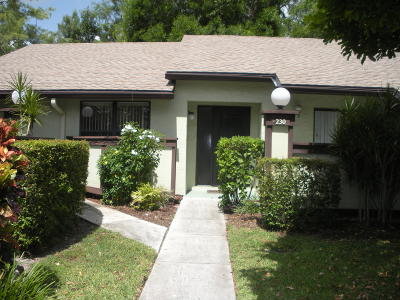Royal Palm Beach Single Family Home Contingent: 230 Bald Eagle Court #230