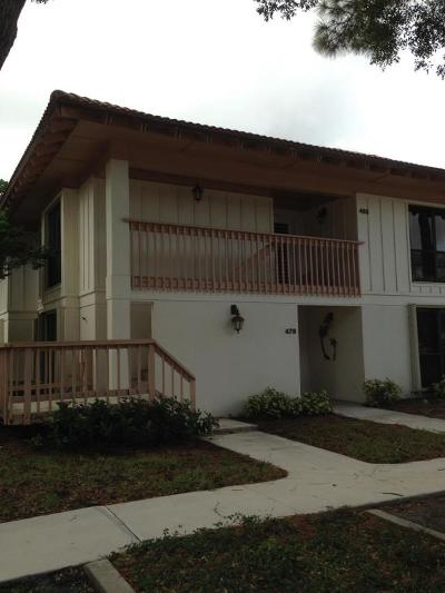 Palm Beach Gardens Rental For Rent: 479 Brackenwood Lane #479