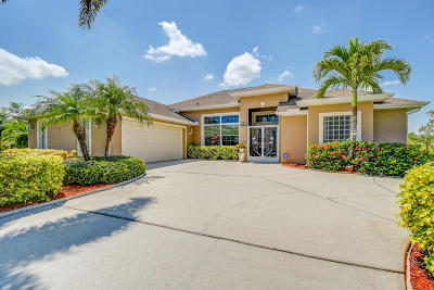 Port Saint Lucie Single Family Home Contingent: 409 SW Kestor Drive