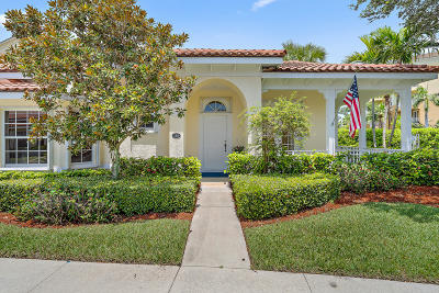 Jupiter Single Family Home For Sale: 138 Mangrove Bay Way