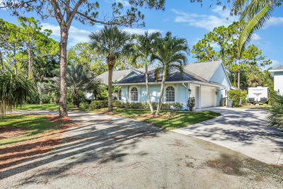 Palm Beach Gardens Single Family Home Contingent: 15131 80th Drive