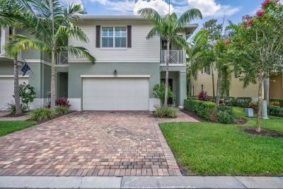 Palm Beach Gardens Townhouse For Sale: 1132 Piccadilly Street