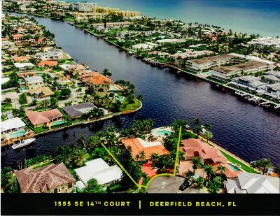 Deerfield Beach Single Family Home For Sale: 1555 SE 14 Court