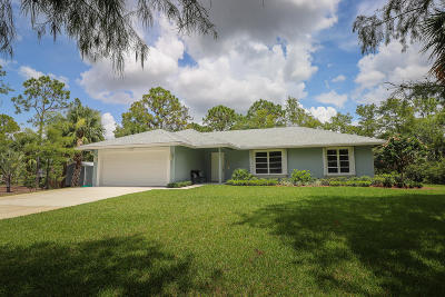 Palm Beach Gardens Single Family Home For Sale: 8851 154th Court