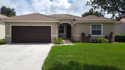 Coconut Creek Single Family Home For Sale: 5230 NW 49th Street