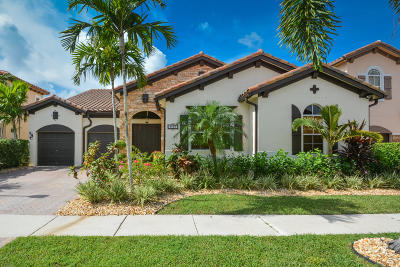 Boynton Beach Single Family Home For Sale: 4060 Artesa Drive