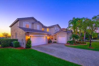 West Palm Beach Single Family Home For Sale: 1362 Pebble Ridge Lane