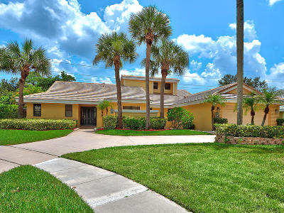 Jupiter Single Family Home For Sale: 6246 Winding Lake Drive