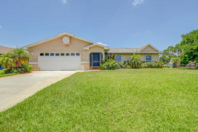 Port Saint Lucie FL Single Family Home Contingent: $229,888