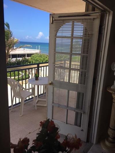Palm Beach Condo For Sale: 3475 S Ocean Boulevard #210