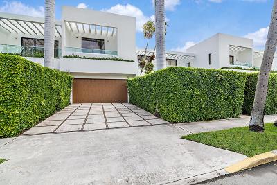 Palm Beach Townhouse For Sale: 421 Chilean Avenue
