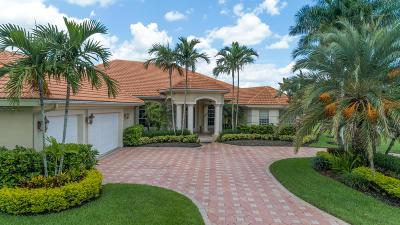 Palm Beach Gardens Single Family Home For Sale: 8255 Woodsmuir Drive