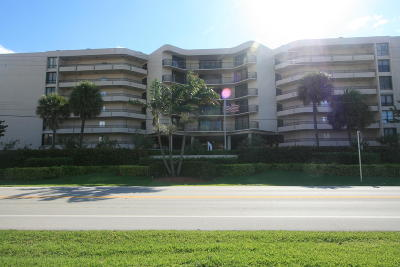 South Palm Beach Condo Sold: 3610 S Ocean Boulevard #201