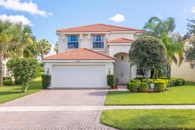 Royal Palm Beach Single Family Home For Sale: 2399 Bellarosa Circle Circle
