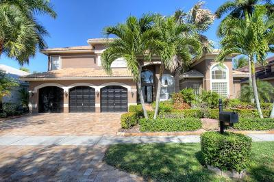 Boca Raton Single Family Home For Sale: 19551 Saturnia Lakes Drive
