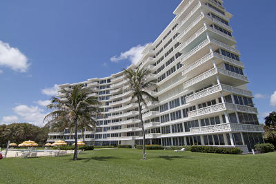 Delray Beach Condo For Sale: 1225 S Ocean Boulevard #204