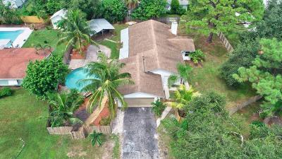 Delray Beach Single Family Home For Sale: 15385 Monroe Road