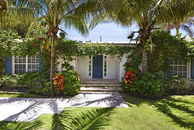 Palm Beach Single Family Home For Sale: 143 Reef Road