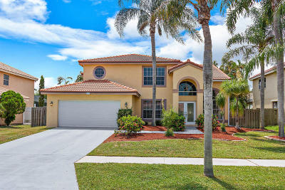 Boynton Beach Single Family Home For Sale: 8893 Jaspers Drive