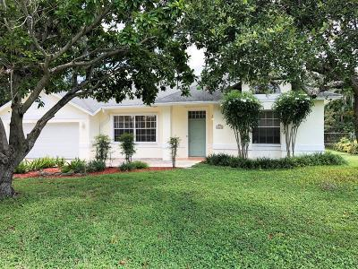 West Palm Beach Single Family Home For Sale: 2695 Carambola Road
