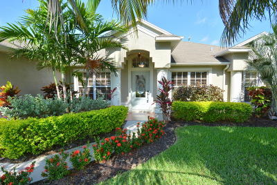 Jensen Beach Single Family Home For Sale: 2060 NE Steven Avenue