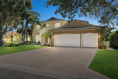 Jupiter Single Family Home For Sale: 272 Crane Point