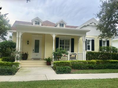 Jupiter Single Family Home Contingent: 164 Honeysuckle Drive