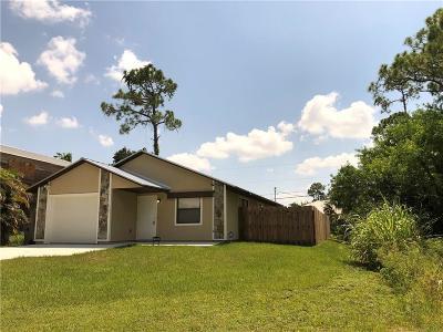 Vero Beach Single Family Home For Sale: 1570 18th Avenue SW