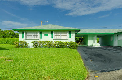 Delray Beach Single Family Home For Sale: 621 Hummingbird Lane