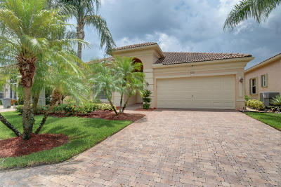 Delray Beach Single Family Home Contingent: 7231 Demedici Circle