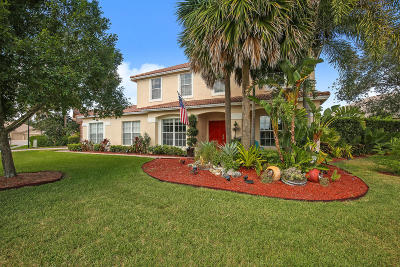 West Palm Beach Single Family Home For Sale: 6459 Bay Island Court