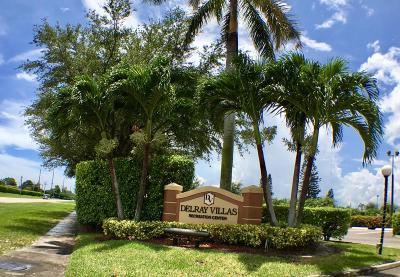 delray beach Single Family Home For Sale: 14317 Campanelli Drive