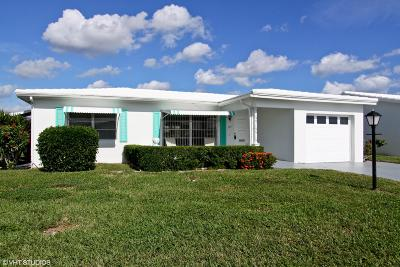 Boynton Beach Single Family Home Contingent: 1011 SW 3rd Way