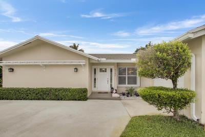 Palm Beach Gardens Single Family Home For Sale: 4342 Gardenia Drive