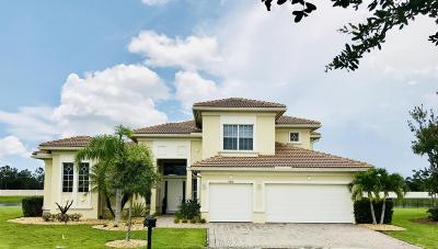 Port Saint Lucie Single Family Home For Sale: 11416 SW Aventino Drive