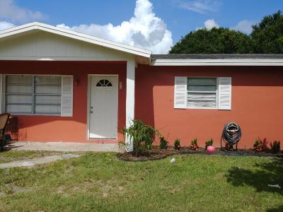 Fort Pierce FL Single Family Home For Sale: $149,900