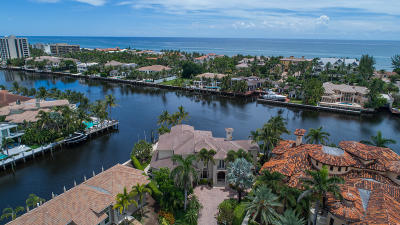 Delray Beach Single Family Home For Sale: 961 Gardenia Drive