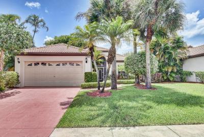 Boca Raton Single Family Home For Sale: 22562 Esplanada Drive