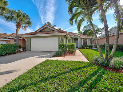 Jupiter Single Family Home For Sale: 166 S Hampton Drive
