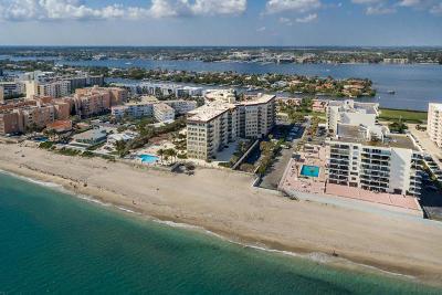 Palm Beach Condo For Sale: 3475 S Ocean Boulevard #109