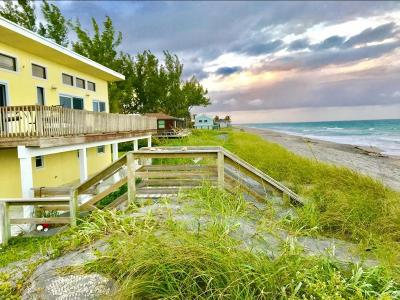 Hobe Sound Single Family Home For Sale: 137 Beach Road